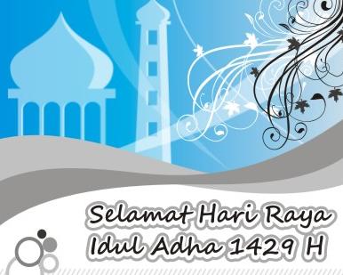 Selamat Idul Adha 10 Dzulhijjah 1430H